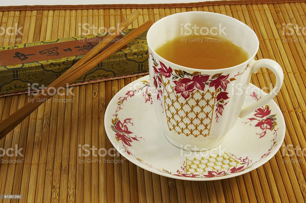 Cup of tee royalty-free stock photo