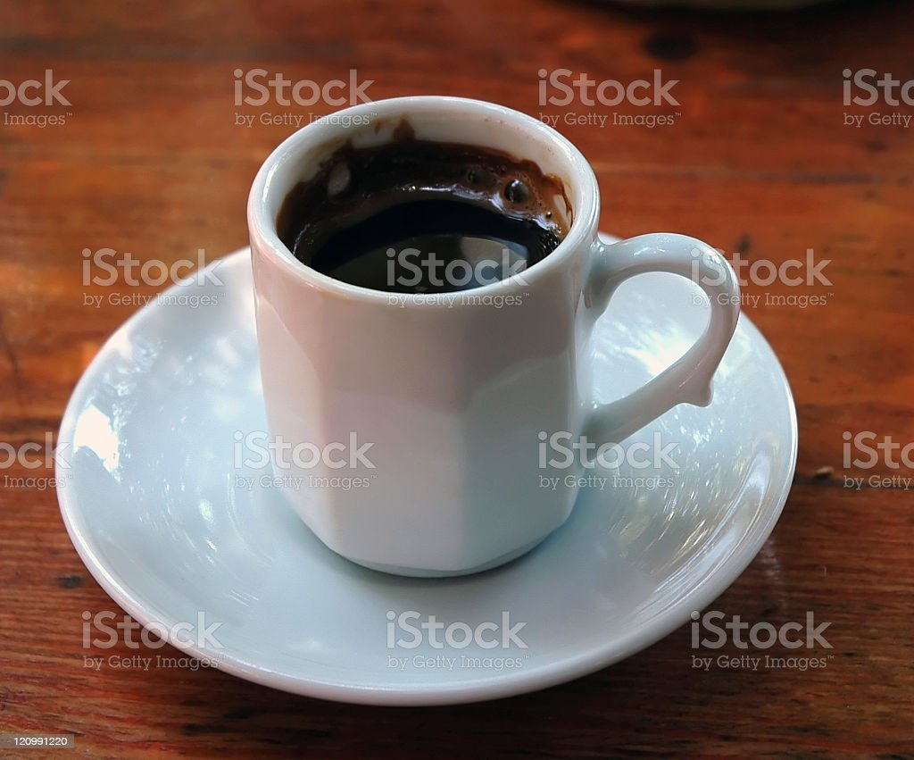 Cup of Turkish Coffee stock photo