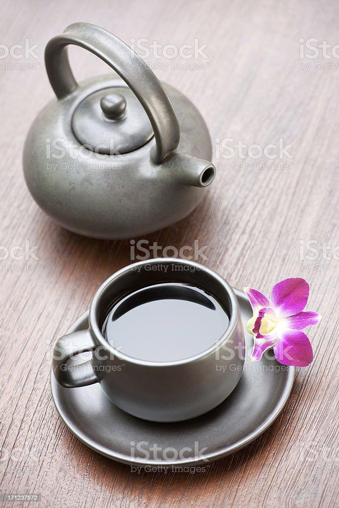 Cup of Wellness Tea (XXXL) royalty-free stock photo