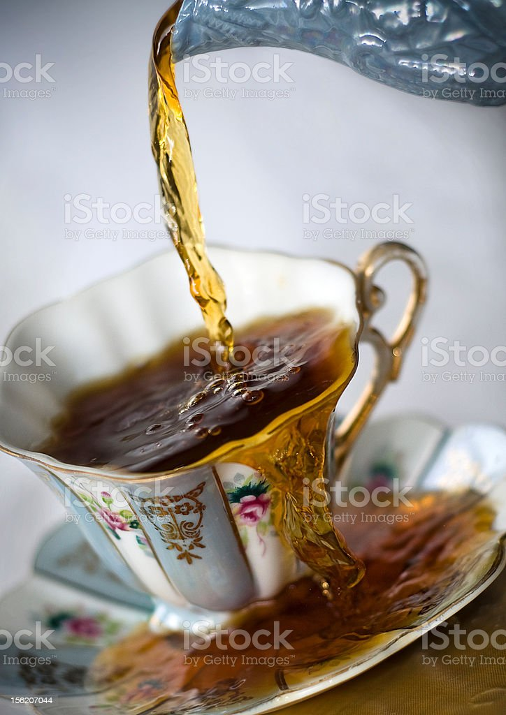 Cup Overflowing royalty-free stock photo