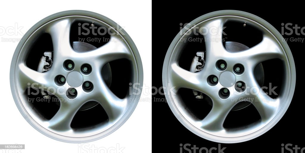 Cup Turbo Sport Rims royalty-free stock photo