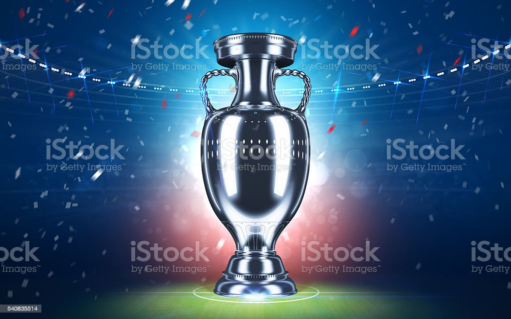Cup UEFA 2016 stock photo