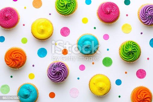 istock Cupcake background 652242330