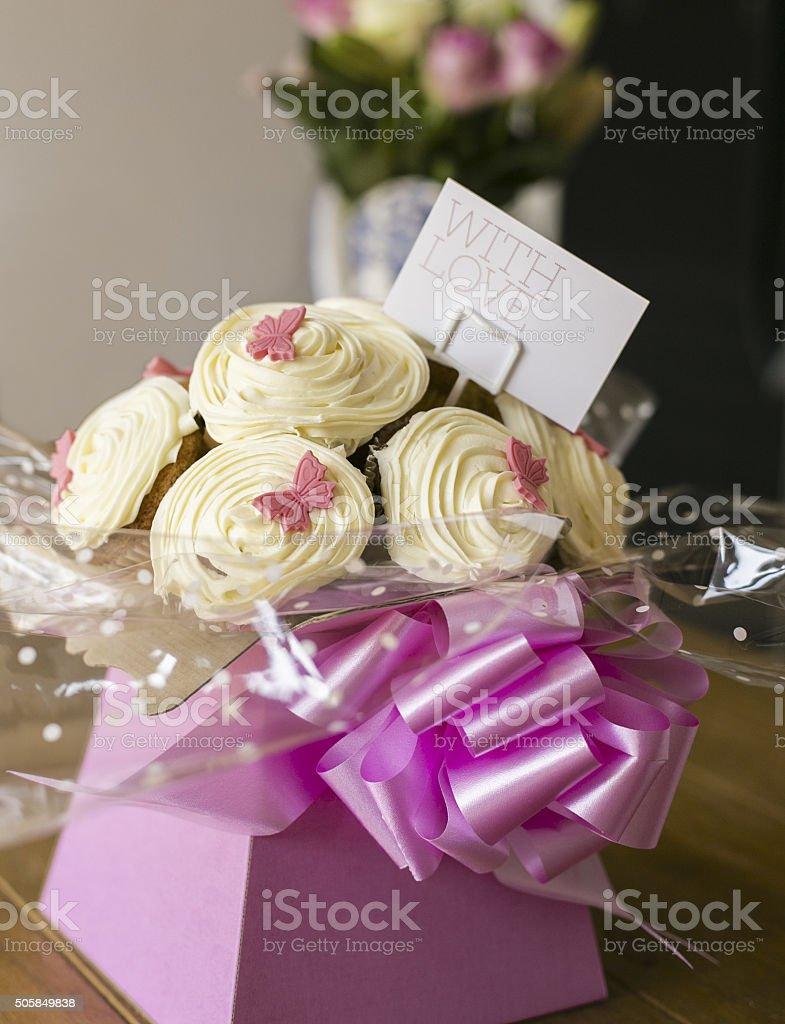 Cupcake-Bouquet – Foto