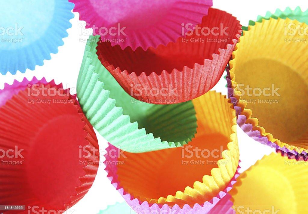 Cupcake Cases stock photo