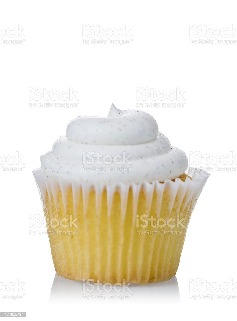 cupcake isolated royalty-free stock photo