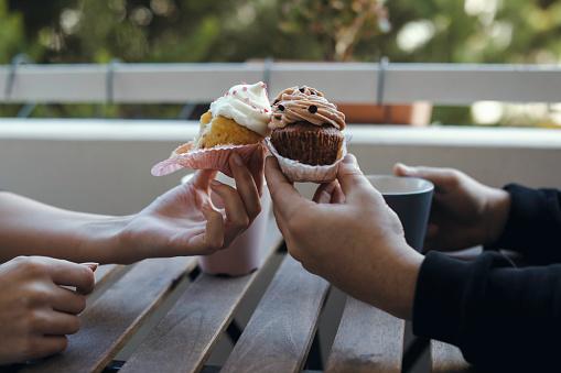 Cupcake and coffee lovers