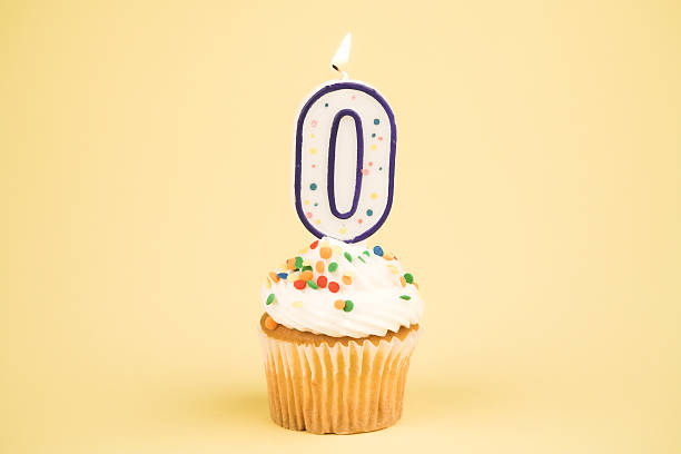 Cupcake Number Series (0)  zero stock pictures, royalty-free photos & images