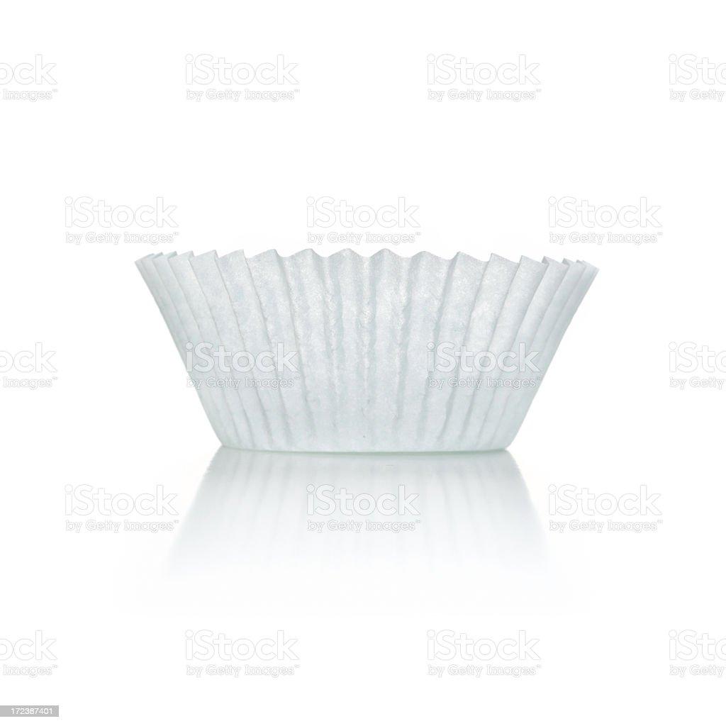 Cupcake paper stock photo