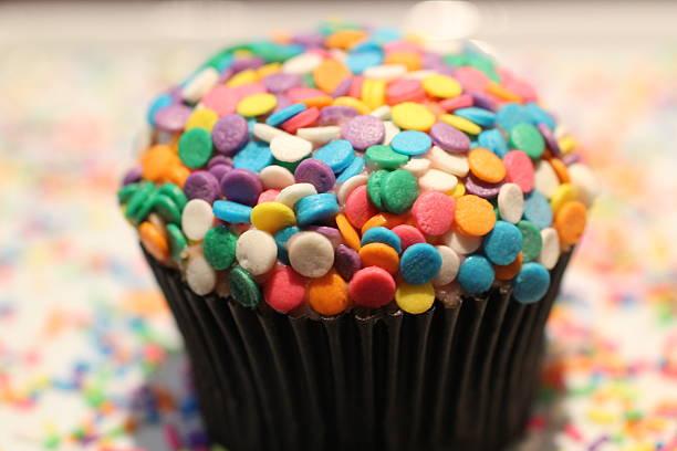 Cupcake stock photo