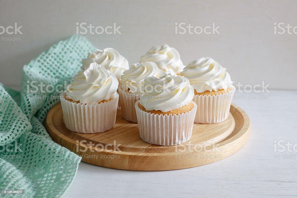 cupcake. stock photo