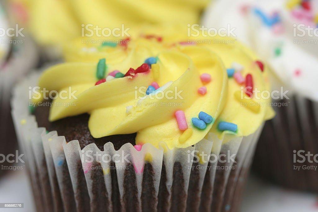 - cupcake Lizenzfreies stock-foto