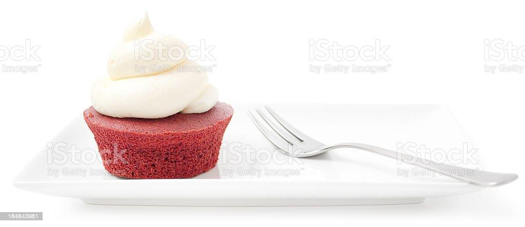 Cupcake - Red velvet royalty-free stock photo