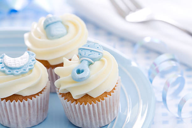 Cupcakes for a baby shower foto