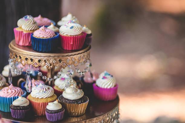 Muffins auf Platte – Foto
