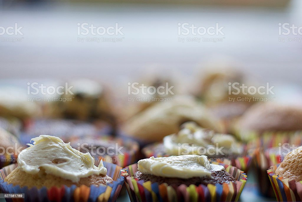Cupcakes foto stock royalty-free