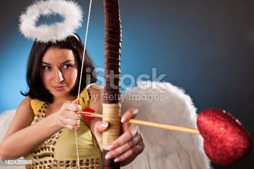 970844120 istock photo Cupid girl 182435966