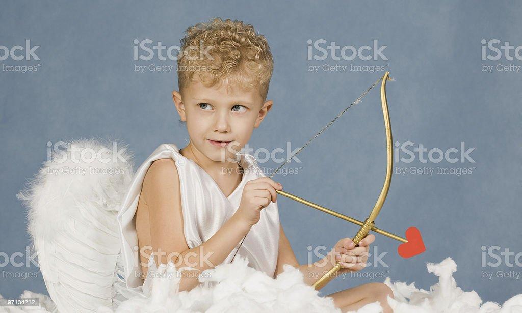 Cupid royalty-free stock photo