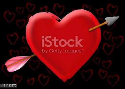 181132670 istock photo Cupid Targets My Heart 181132670