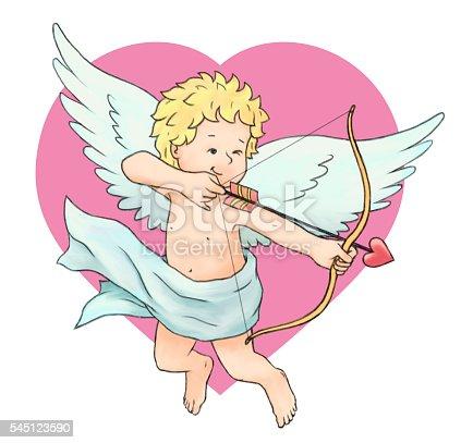 970844120 istock photo Cupid's Arrow 545123590
