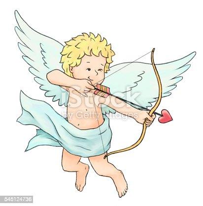 970844120 istock photo Cupid's Arrow 545124736