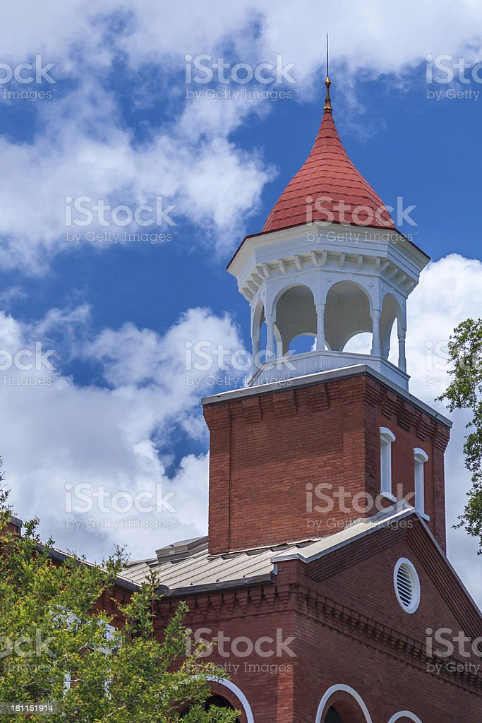 Cupola on Historic Courthouse stock photo