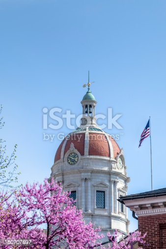 Cupola on the Old York County Court House with spring blossoms.I invite you to view some other images from York County Pennsylvania: