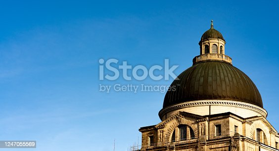 istock Cupola roof of the Bavarian State Chancellery 1247055569