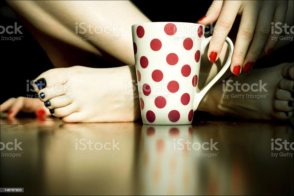 Cuppa royalty-free stock photo