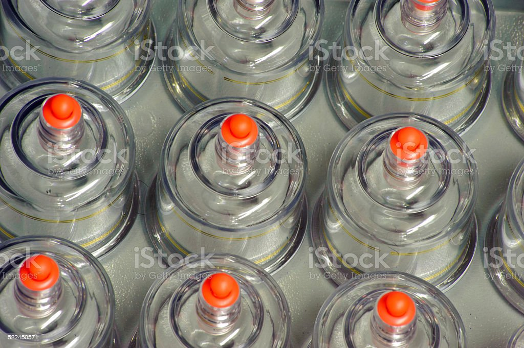 Cupping treatment royalty-free stock photo