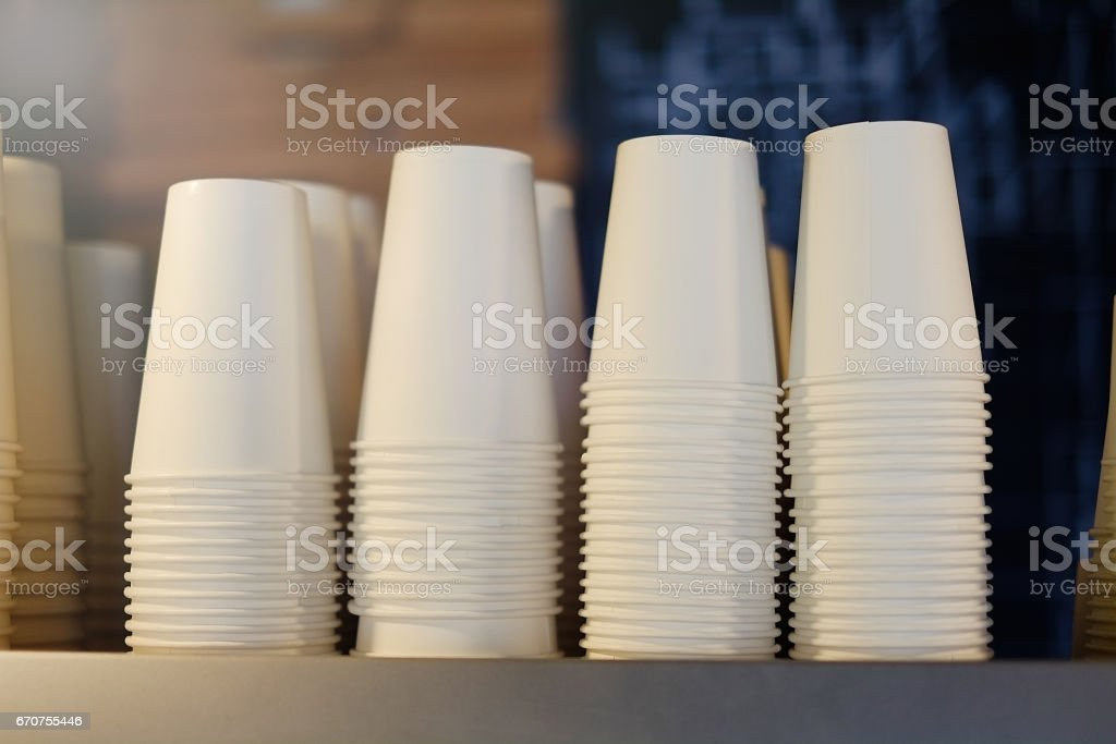 cups for coffee stock photo