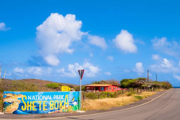 Curacao, Shete Boka National Park stock photo