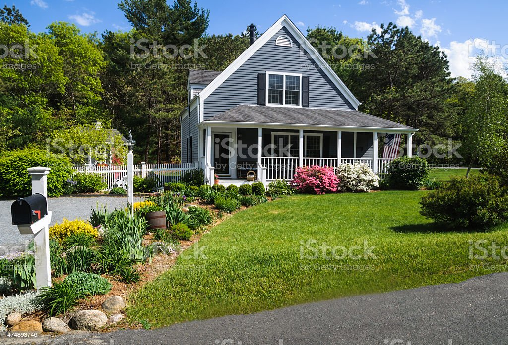 Curb Appeal stock photo