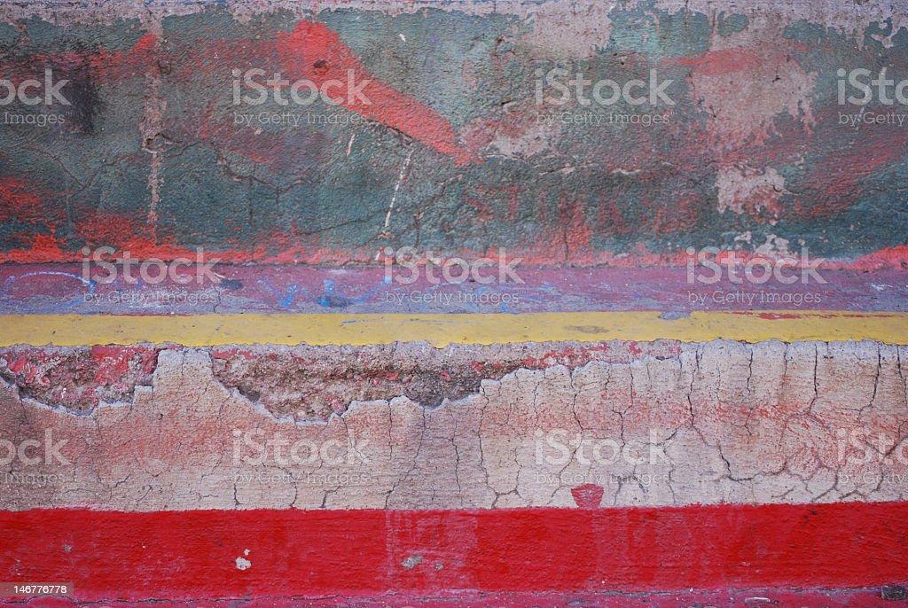 Curb Art stock photo