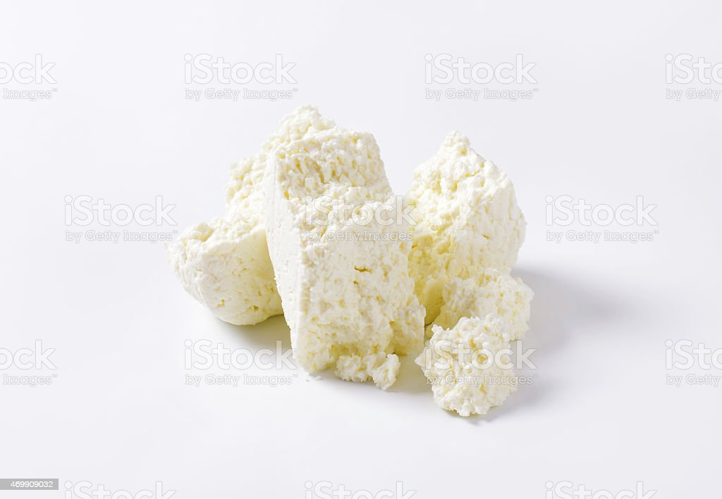 Curd cheese stock photo