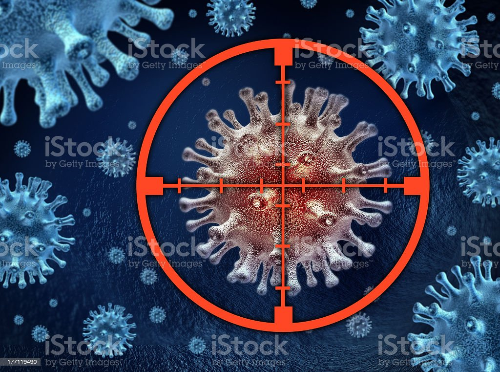 Cure the disease royalty-free stock photo