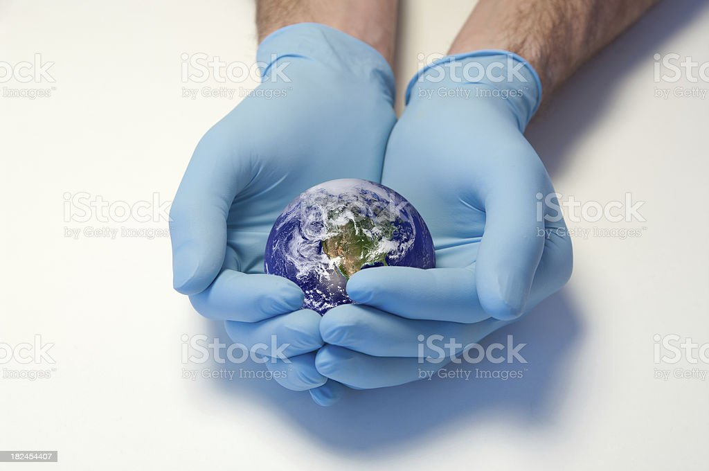 Cure the World royalty-free stock photo