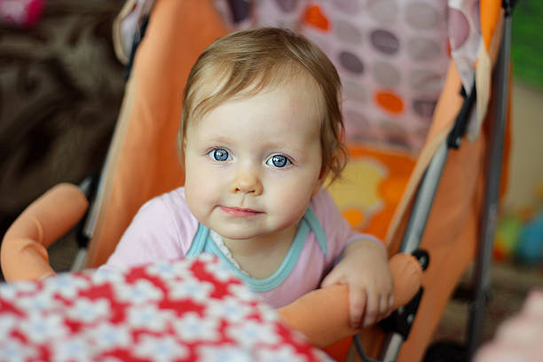 Curious Baby stock photo