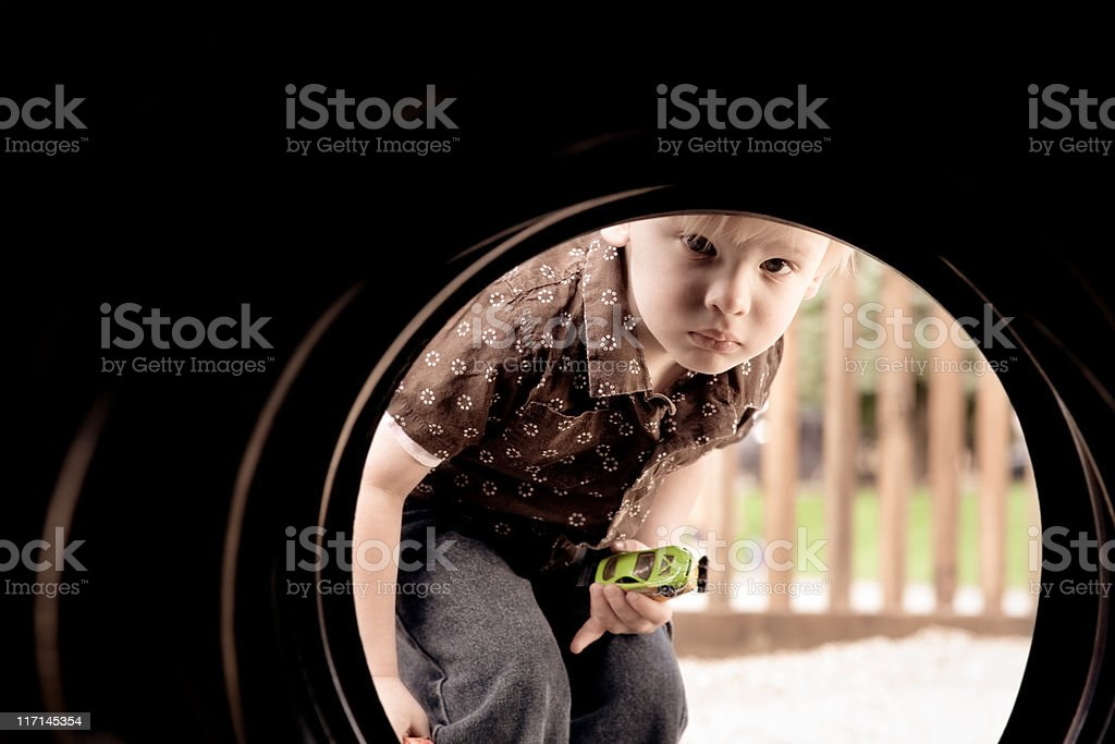 Curious Child royalty-free stock photo