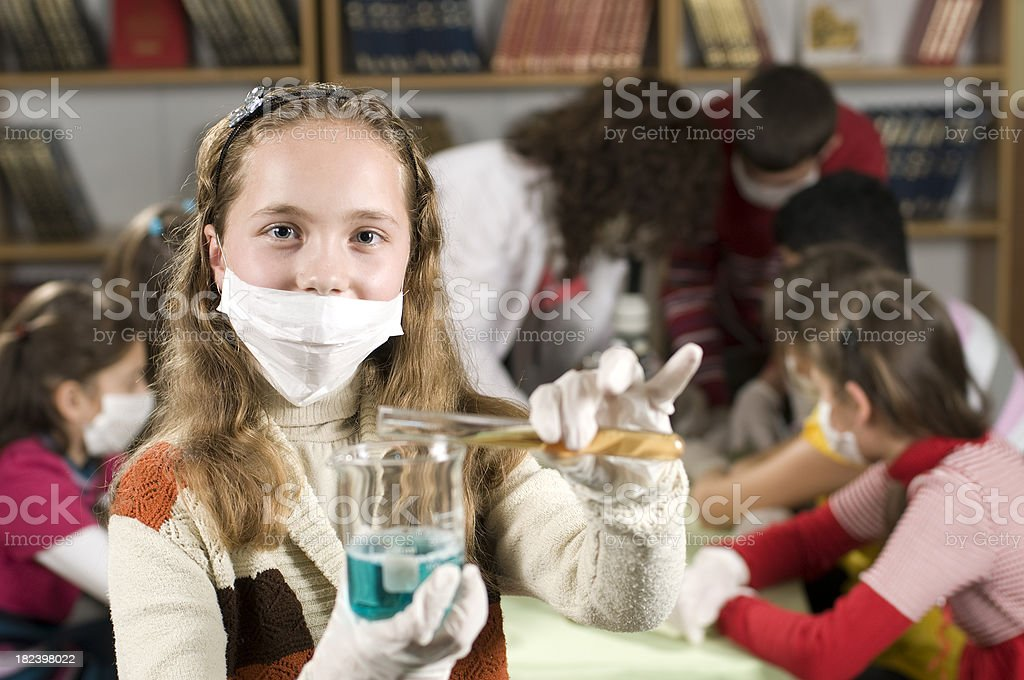 Curious Student royalty-free stock photo