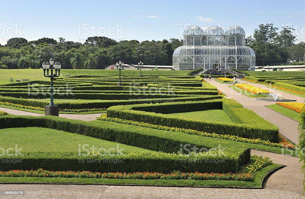 Curitiba Estate Parana Jardim Botanico stock photo
