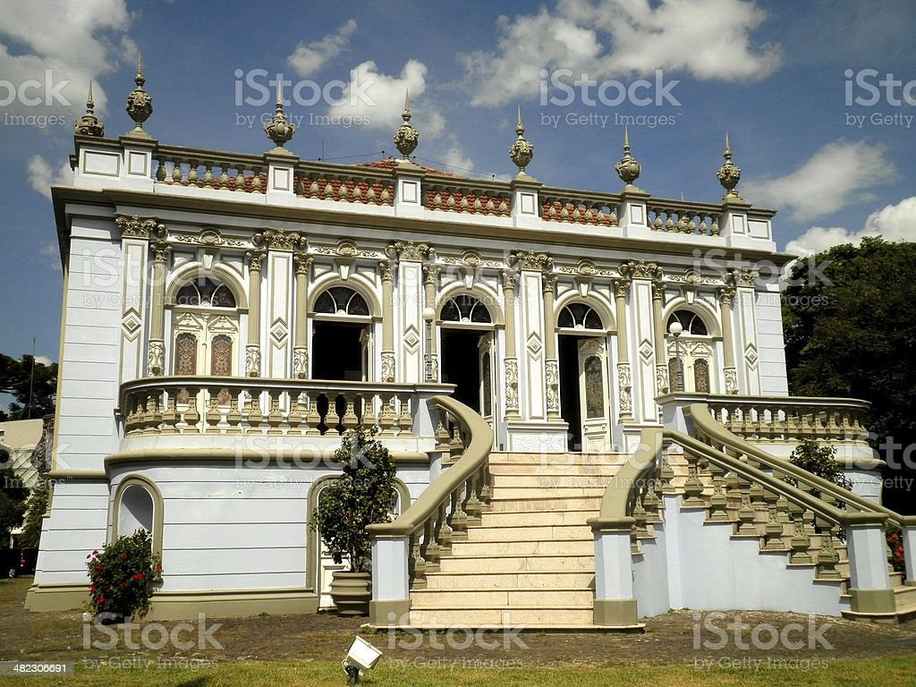 Curitiba Historical Building stock photo