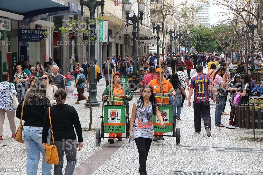 Curitiba stock photo