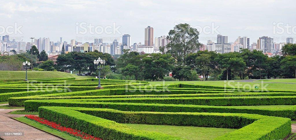 Curitiba Skyline stock photo