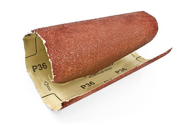 エメリー紙 sandpaper - サンドペーパー ストックフォトと画像