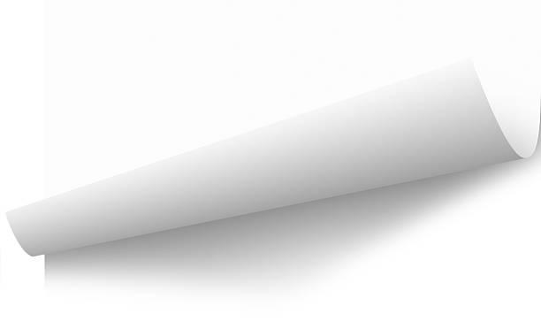 sich zusammenrollen papier seite lift peeling mit schneidepfade - buchseite stock-fotos und bilder