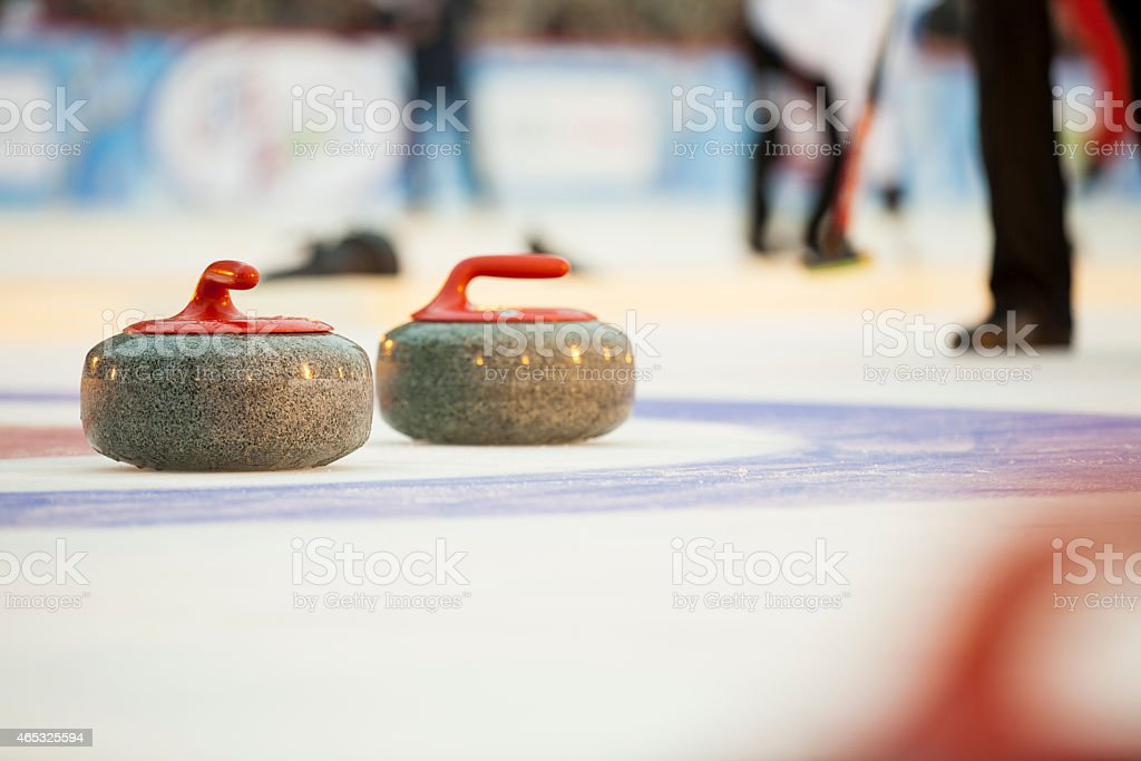 Curling stock photo