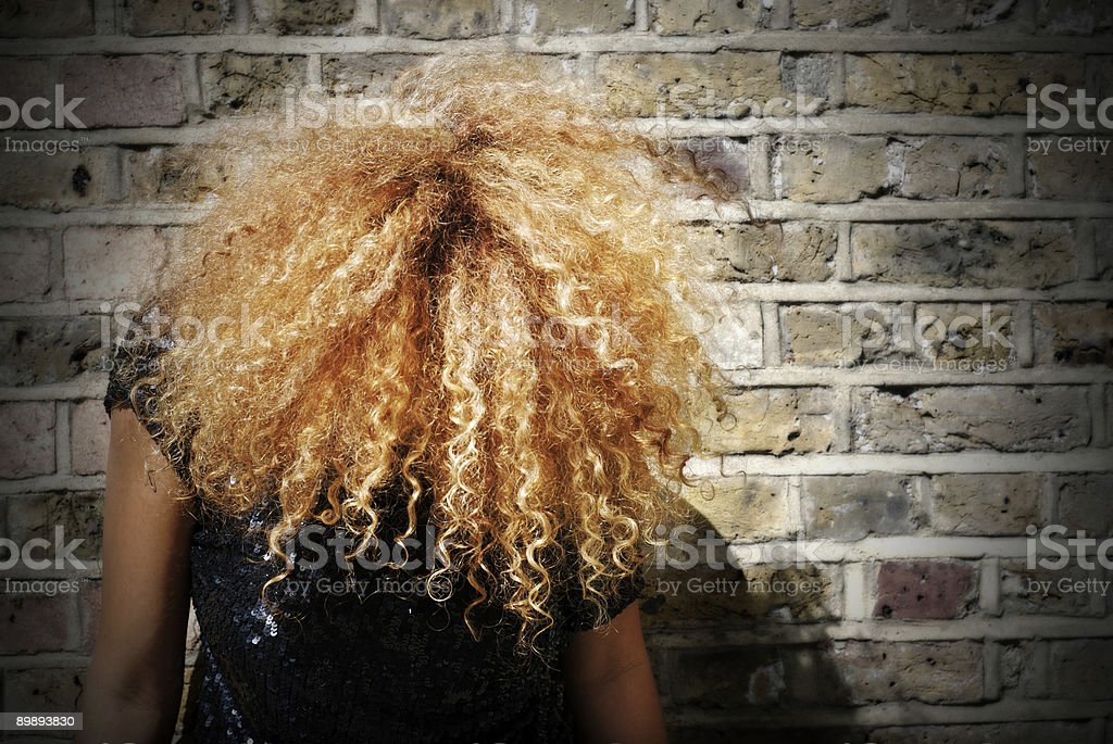 Curls royalty-free stock photo