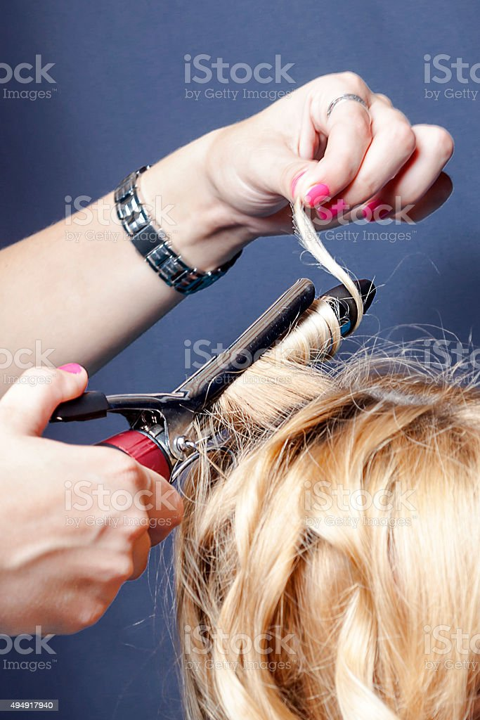 Curly Hair Maker Stock Photo More Pictures Of 2015 Istock