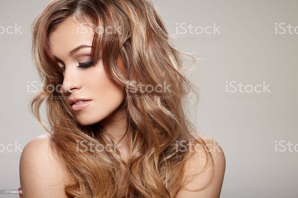 Curly hair - Royalty-free Adult Stock Photo
